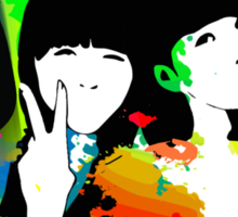 Perfume Band Girls Sticker