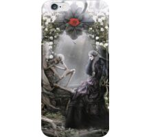 Your heart is beating me to death everyday iPhone Case/Skin