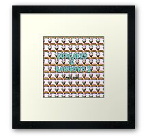 cupcakes & rainbows 2 Framed Print