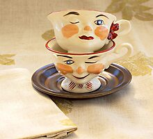 Ladies and Gents Tea Cups by Yannik Hay
