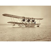 Flying Boat - Flight from Gaza to Cairo via Ismalieh - circa 1932 Photographic Print