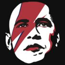 Obama Bowie Pinups by midniteoil
