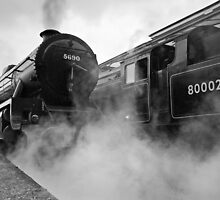 Steam at Keighley by Steve  Liptrot