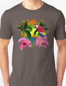 Palm Trees And Island Sunsets Unisex T-Shirt