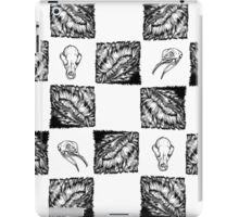 Hairy Checkers iPad Case/Skin