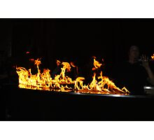 fire in the air Photographic Print