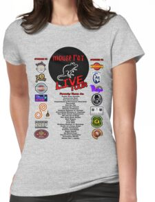 Mouse Rat Live Tour Edition Womens Fitted T-Shirt