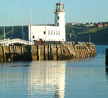 Light house Reflection by TREVOR34