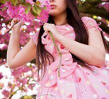 Cherry Blossom Lolita by nitemarephoto