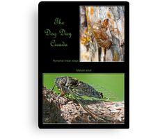 The Dog Day Cicada Canvas Print