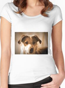 Loyal Eyes Women's Fitted Scoop T-Shirt