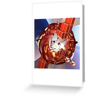 The Space Ball Greeting Card