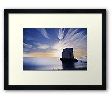 Blue Hours Framed Print