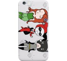 Gotham Sirens iPhone Case/Skin