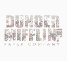 Dunder Mifflin (Floral) by neon-bullets