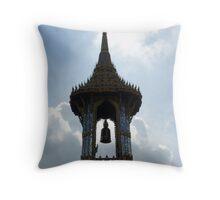 Summer Bell - Grand Palace, Thailand Throw Pillow