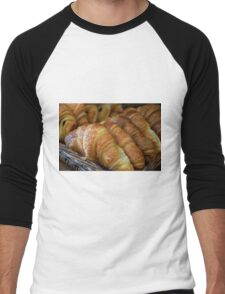Croissants Men's Baseball ¾ T-Shirt