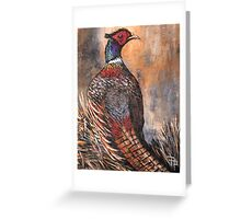 The Pheasant Greeting Card