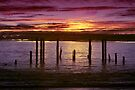 Old jetty by Andrew Dickman