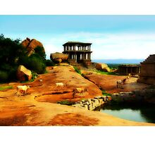 Indian countryside Photographic Print