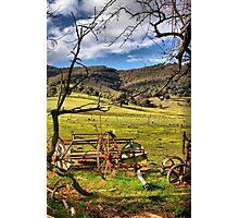 Neils Farm Photographic Print