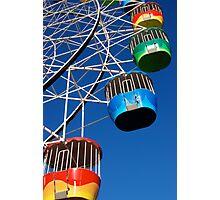 Hanging Baskets Photographic Print