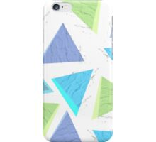 Triangles and Bricks iPhone Case/Skin