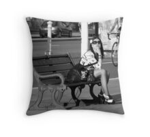 A Passing Moment Throw Pillow
