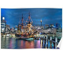 Fantasy Voyager - HMB Endeavour- The HDR Experience Poster