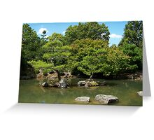 Zen lake Greeting Card
