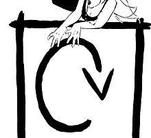 CV Logo by Carie Varner