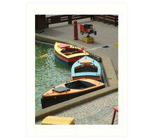 Boat Park Art Print