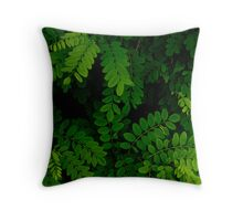 Pattern, leaves Throw Pillow