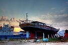 Argostoli Shipyard by Paul Thompson Photography