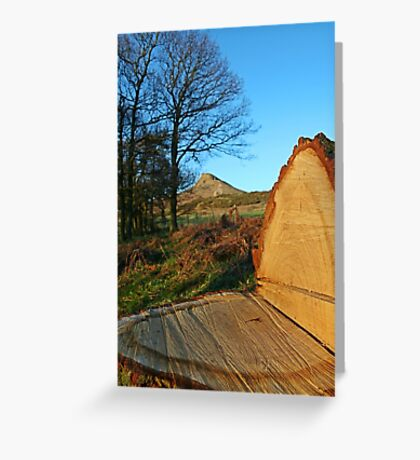 Roseberry Topping, North Yorkshire Greeting Card
