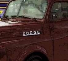 1951 Dodge Truck II Sticker