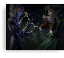 Ocarina of Time Canvas Print