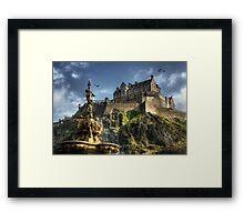 Edinburgh Castle Framed Print