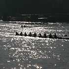 Crew Team on the Thames River by arushton