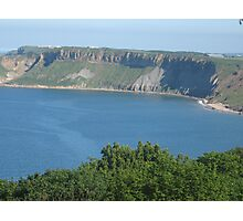 View from Scarborough Castle North Yorkshire Uk June 2009 Photographic Print