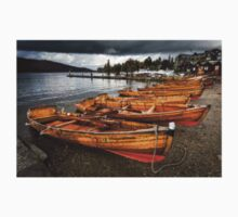 Rowing Boats, Lake Windermere One Piece - Long Sleeve
