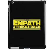 The Empath Strikes Back - Star Wars Parody - Subversive Symbolism iPad Case/Skin