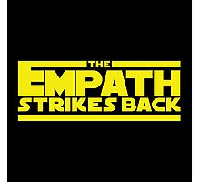 The Empath Strikes Back - Star Wars Parody - Subversive Symbolism Photographic Print