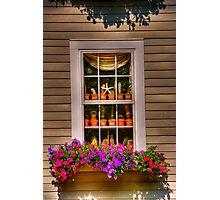 window for chris Photographic Print