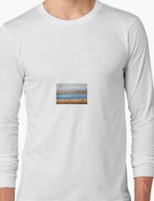 Frozen Pond in the Brecon Beacons Long Sleeve T-Shirt