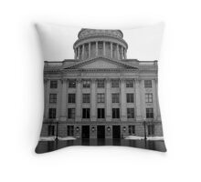 The Capital Throw Pillow