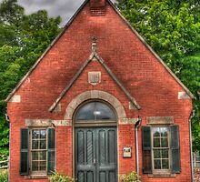 old victorian probate court Simsbury CT by Bill Manocchio