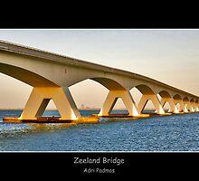 Zeeland Bridge by Adri  Padmos
