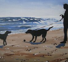 Two Dogs by Charles Kohnen