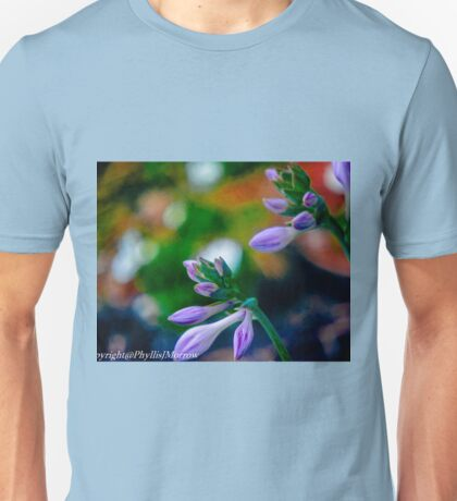 Abstract of Spring Buds Unisex T-Shirt